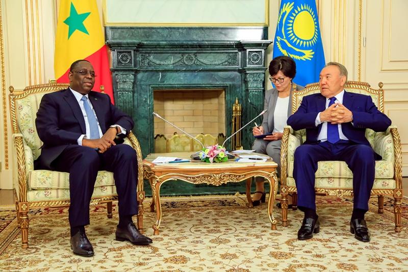 Н.Назарбаев: Казахстан открыт для сотрудничества с Сенегалом по всем направлениям