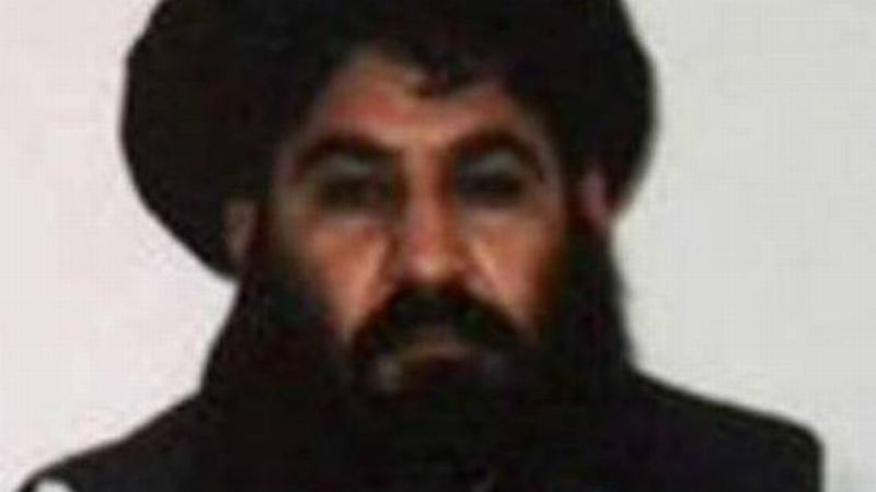 美国称炸死阿富汗塔利班首领曼苏尔