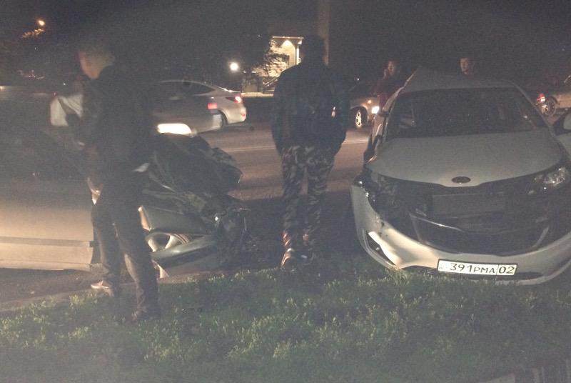 В Алматы в результате ДТП пострадали несколько человек