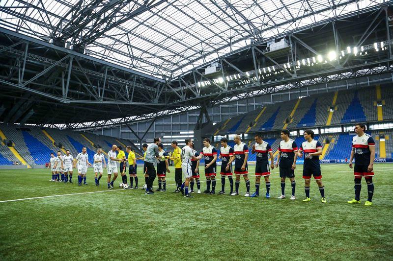Сборные КФБ и AIBA сыграли в футбол (ФОТО)