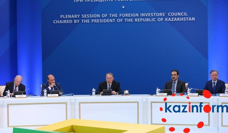 纳扎尔巴耶夫:外国投资者均视哈萨克斯坦为中亚最佳投资国