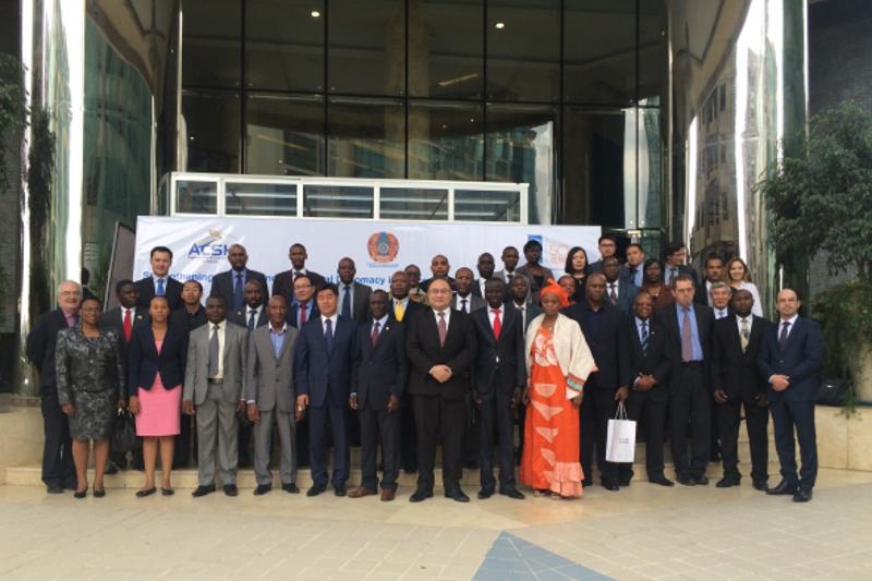 Правительство Казахстана и ПРООН провели семинар для африканских дипломатов в Аддис-Абебе