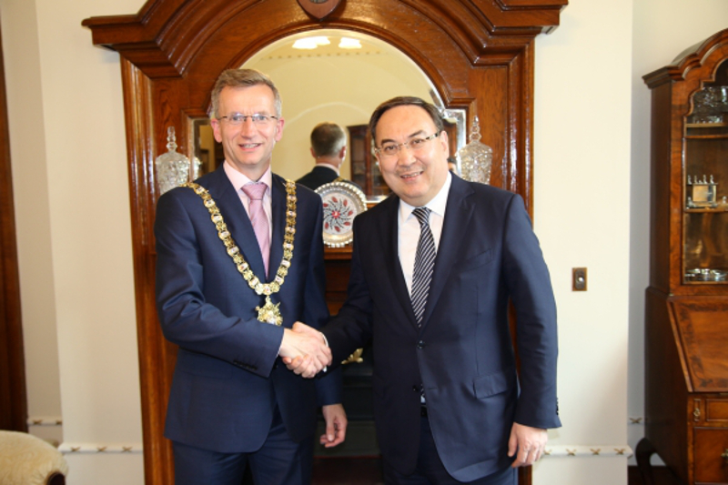 Kazakh Ambassador to UK pays working visit to Northern Ireland