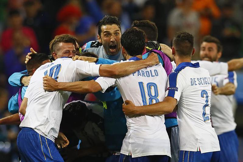 Евро-2016: Сборная Италии одолела команду Бельгии