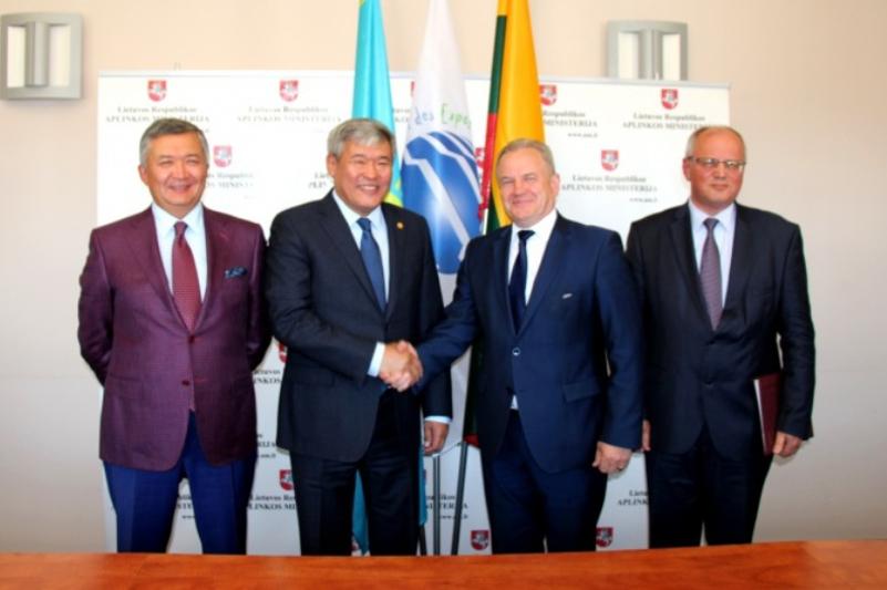 Литва «ЭКСПО-2017» көрмесіне қатысу туралы шартқа қол қойды