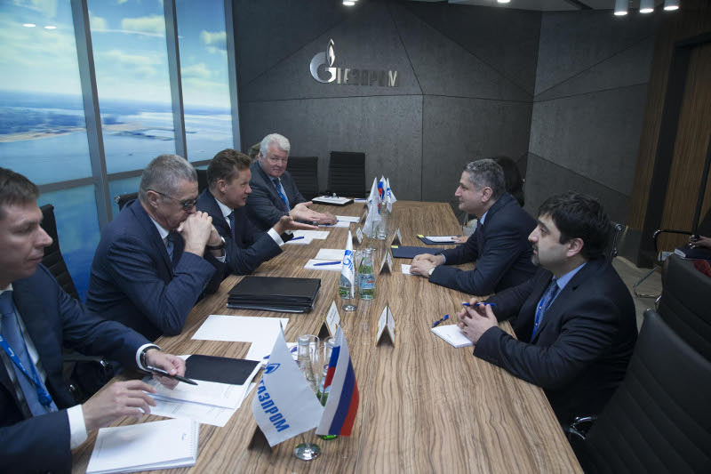 T. Sargsyan and A. Miller discussed forming of EEU common gas market