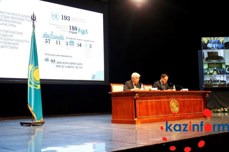 Глава МИД РК назвал приоритетным сопряжение программы «Нурлы жол» с другими инфраструктурными инициативами
