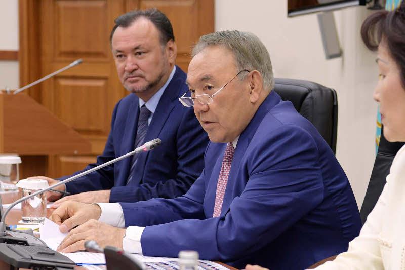President partook in sitting of Nur Otan's Faction in Majilis