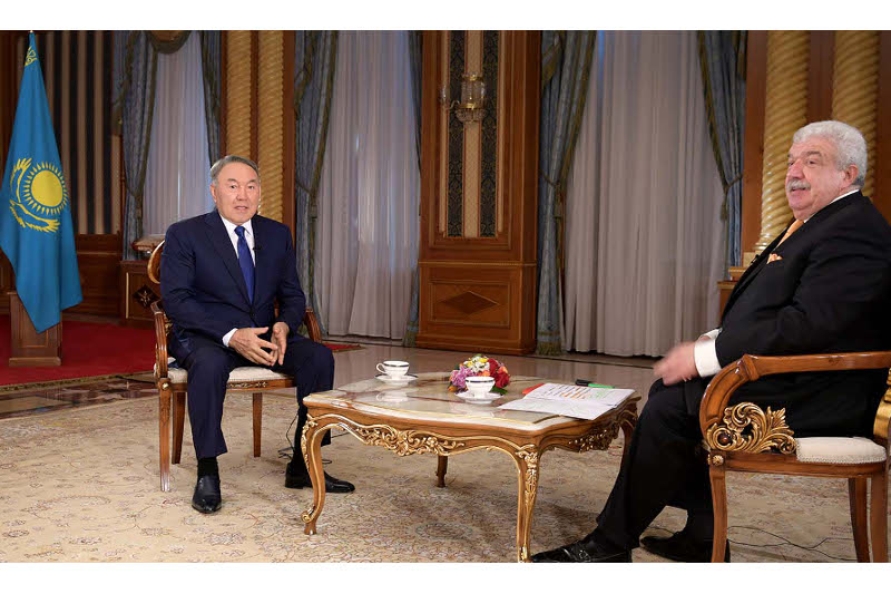 Someone had to say 'stop' to armed conflicts - President Nazarbayev on Manifesto