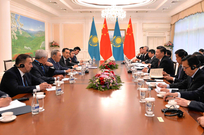 Nazarbayev, Jinping eye further development of transport corridors in Kazakhstan, China