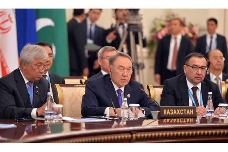 Kazakh President: SCO needs Eurasian transport hub