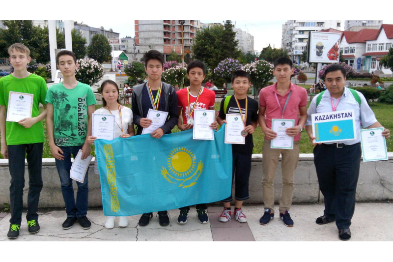 Kazakh schoolchildren 6th at Junior Mathematical Olympiad in Romania