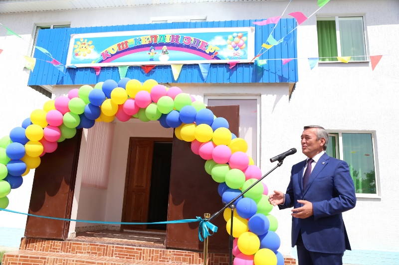 New kindergarten opened in Taldykorgan within public-private partnership (PHOTOS)