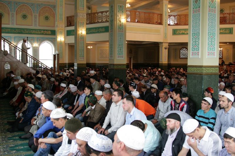 Аким СКО поздравил мусульман с Ораза айт