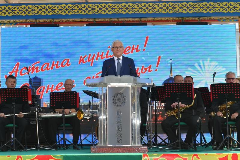 Аким СКО: Астана стала визитной карточкой Казахстана