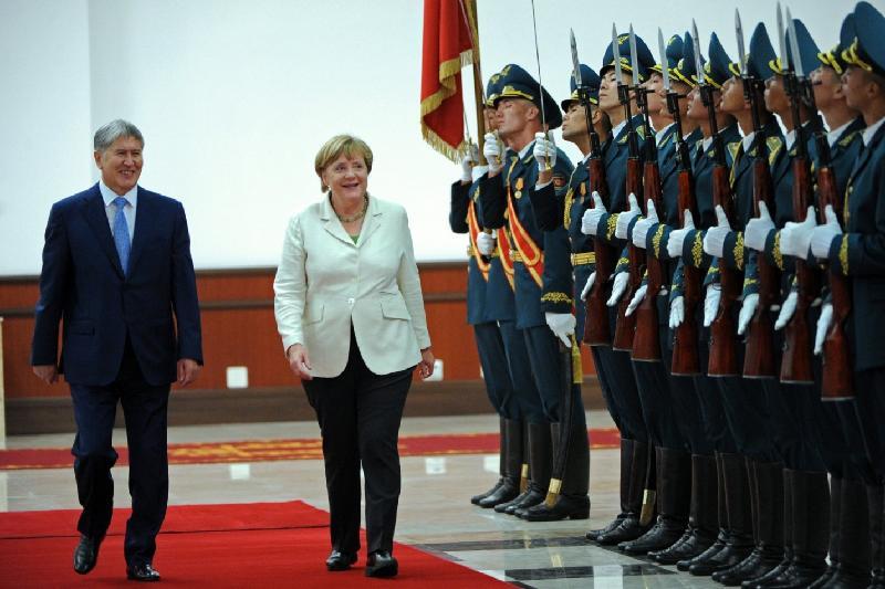 Ангела Меркель посоветовала Кыргызстану развивать малый и средний бизнес