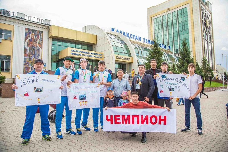 Юные казахстанские боксеры успешно выступили на играх «Дети Азии» (ФОТО)