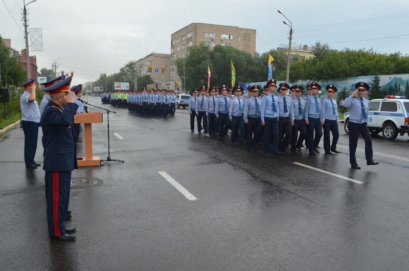 Полиция СКО продемонстрировала боеготовность (ФОТО)