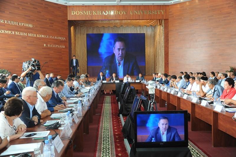 Комиссия по земельной реформе проводит встречу с населением Атырауской области
