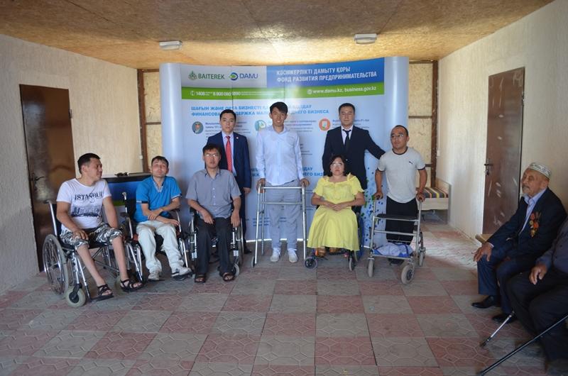 На Алаколе открылся первый пансионат для людей с особыми потребностями (ФОТО)