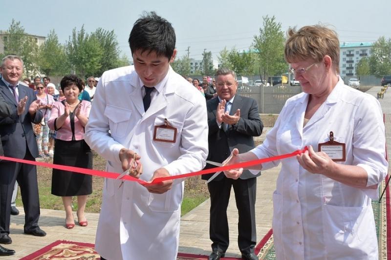 В Жаркаинском районе Акмолинской области открыта больница