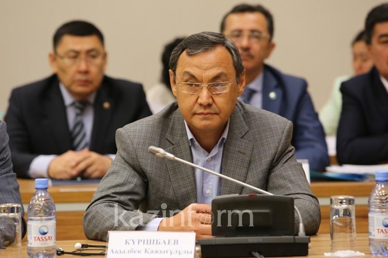 阿克勒别克•库勒希巴耶夫:土地改革委员会工作成效显著