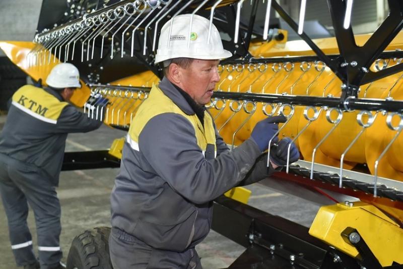 В СКО активно развивается машиностроение