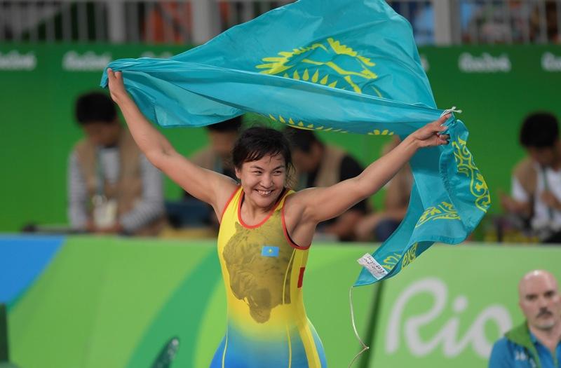 Олимпиадада «қола» жүлде алған Эльмира Сыздықоваға бір бөлмелі пәтер сыйға беріледі