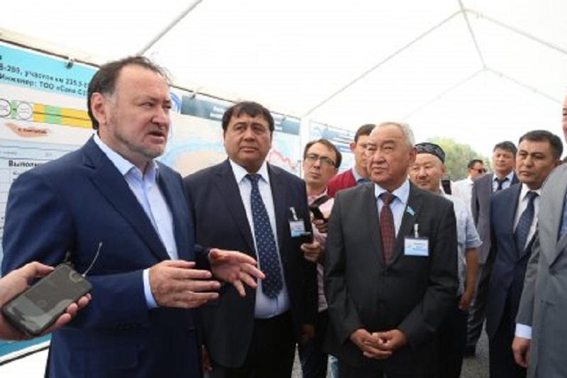 Мухтар Кул-Мухаммед ознакомился с реализацией госпрограмм в Алматинской области