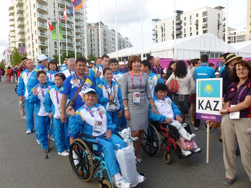 哈萨克斯坦代表队将参加里约残奥会五个项目的角逐