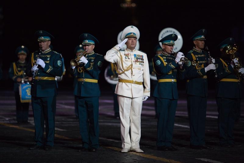 Военные музыканты из Казахстана покорили зрителей фестиваля в Москве