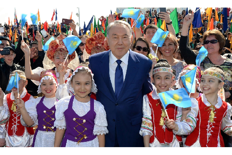 President congratulates Kazakhstanis on Constitution Day