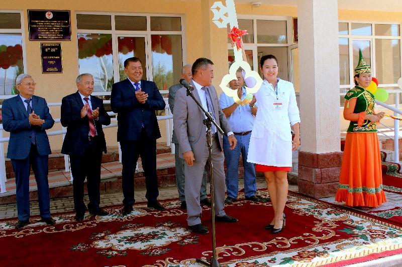 В Алматинской области открылась еще одна врачебная амбулатория