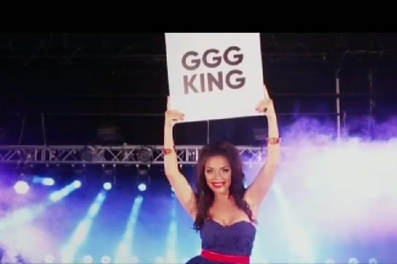 Kazakh singer Sharapova devotes her new song to GGG