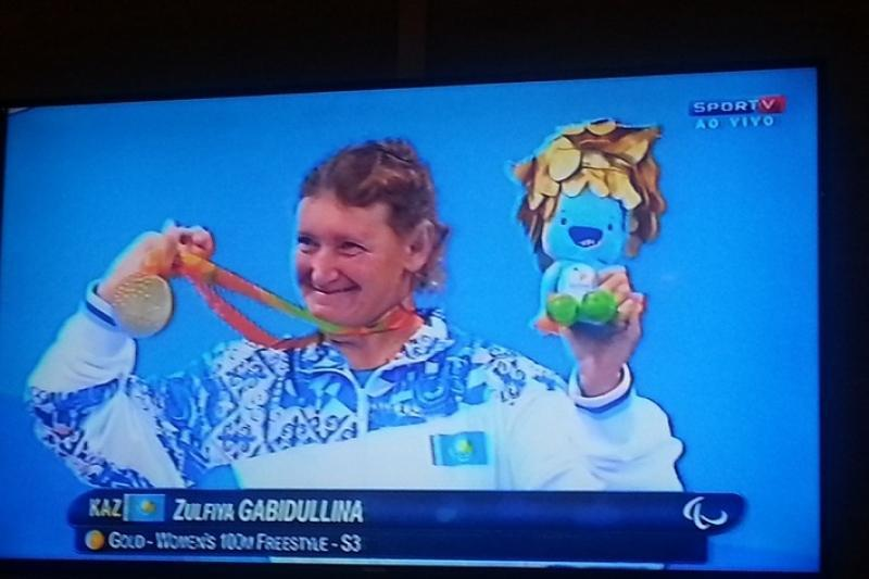 哈比杜琳娜打破世界纪录为哈萨克斯坦摘得里约残奥会首金