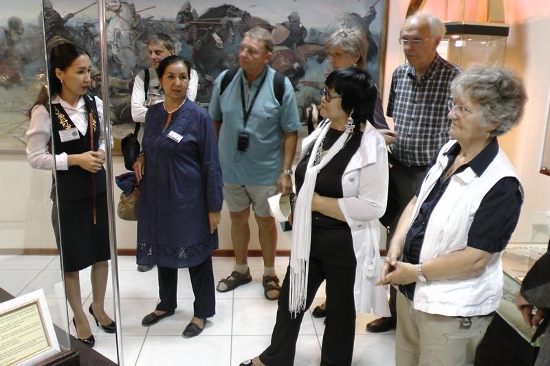 Туроператоры 4 стран знакомятся с Атырауской областью
