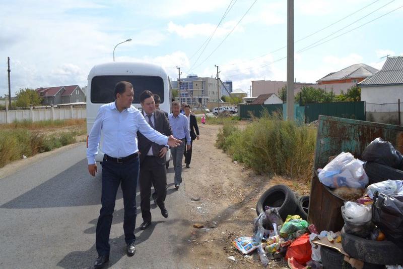 Соцсети «заставили» Нурлана Ногаева обследовать мусорные свалки