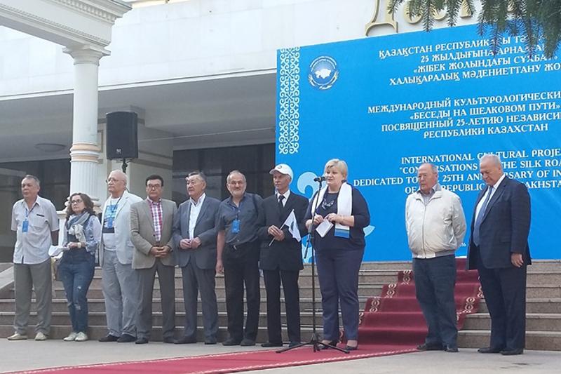 Проект «Беседы на Шелковом пути» стартовал в Алматы