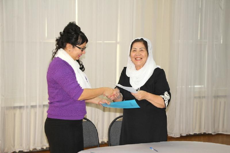 Совет матерей Павлодарской АНК будет дружить со школой-интернатом для слабовидящих