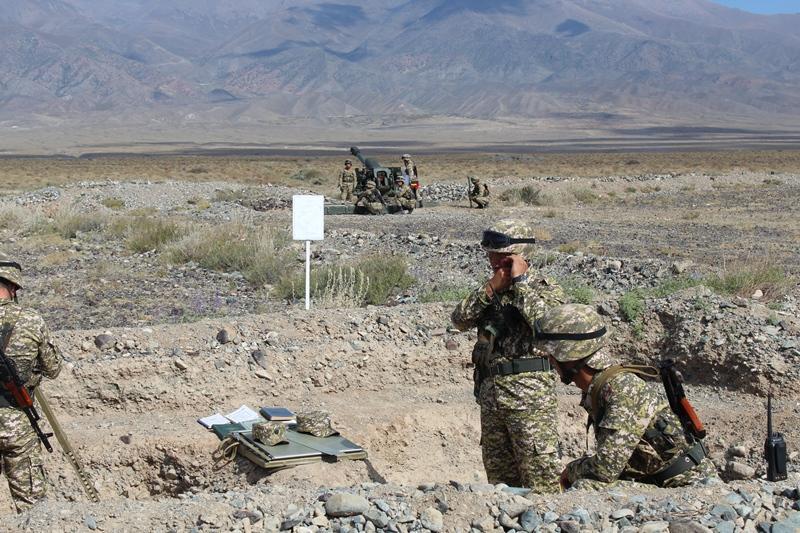 Антитеррористические учения ОДКБ завершились в Кыргызстане