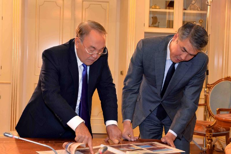President instructs mayor to ensure quality of construction in Astana