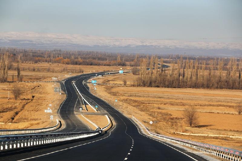 Алматы-Талдықорған тас жолының құрылысы аяқталуға жақын