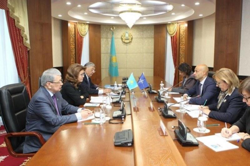 Дарига Назарбаева: Развитие партнерства с НАТО - приоритет внешней политики РК