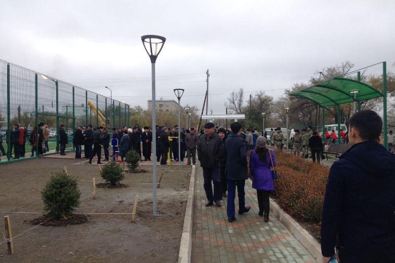 Алматы облысында жастар аллеясы ашылды