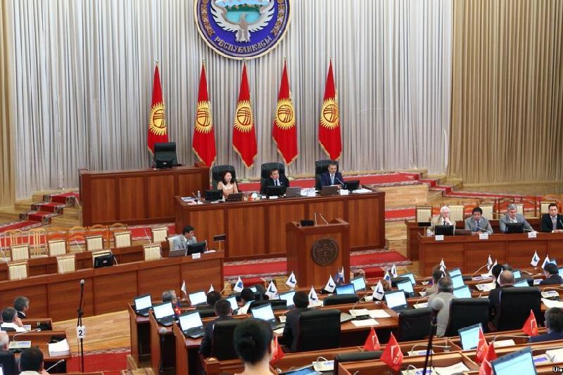 Парламентская коалиция распалась в Кыргызстане