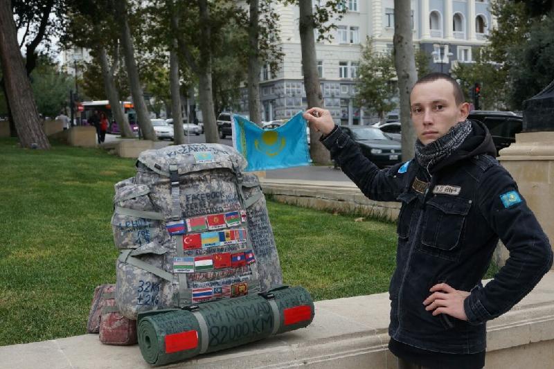Бездомный алматинец стал кругосветным путешественником