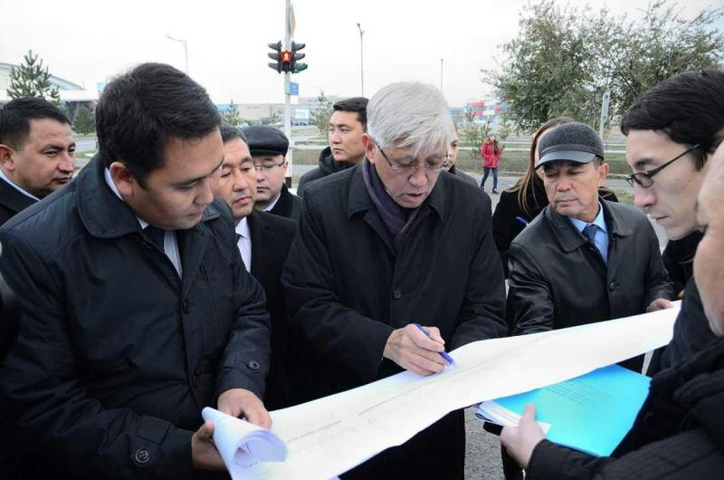 Алматы облысының әкімі құрылыс нысандарының жұмысымен танысты