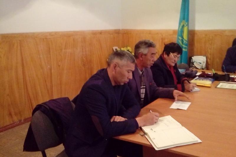 Алматы облысының Ұйғыр ауданында Кәсіпкерлердің аудандық кеңесінің алғашқы көшпелі мәжілісі өтті