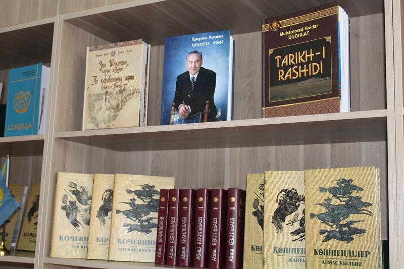 Центр казахстанской книги открыли в Бишкеке