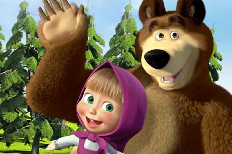 Психологтар: «Маша мен аю»  - балалар үшін ең қауіпті мультфильм